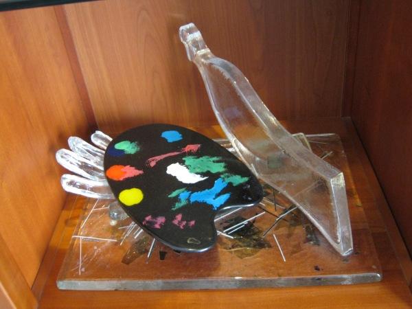 scultura in vetro