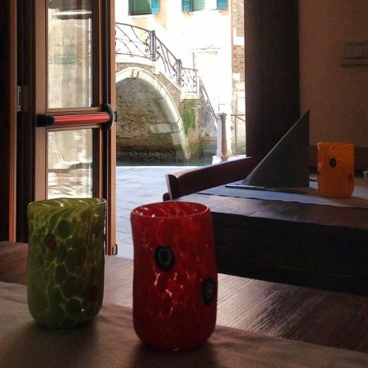 pausa colorata al Ponte Storto Venezia